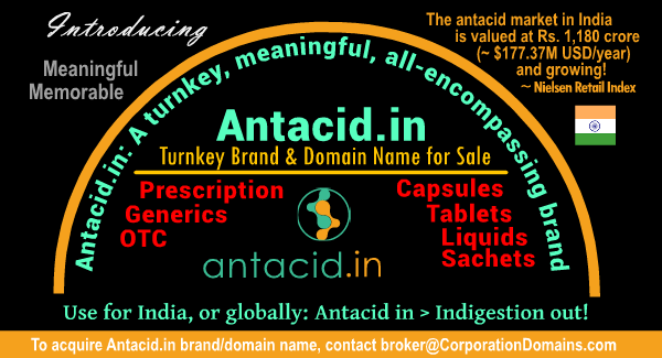 Antacid.in keyword domain name for antacid market in India