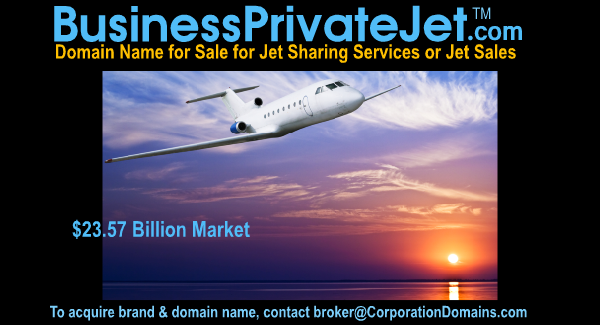 image for BusinessPrivateJet.com url for private jet sales or sharing