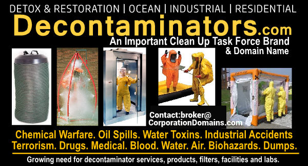 Decontaminators.com domain name for sale