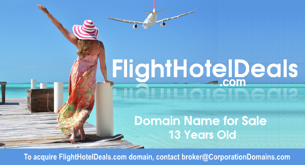 Image for FlightHotelDeals.com url for sale