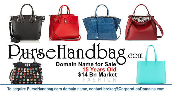 Purse handbag ecommerce domain name for sale: PurseHandbag.com