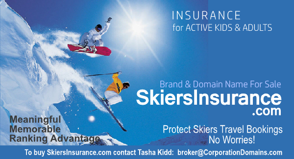 Skiers Insurance domain name to match