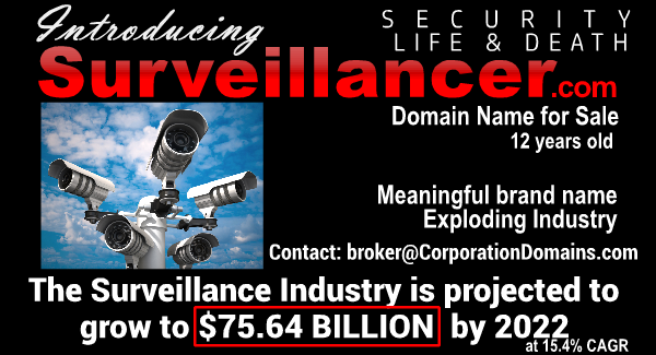 Surveillancer.com url for sale
