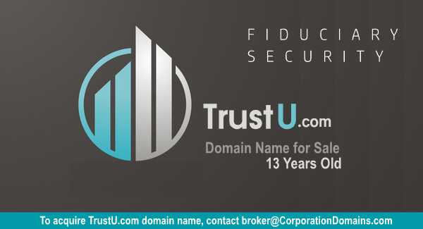 TrustU.com url domain name for security and financial trust