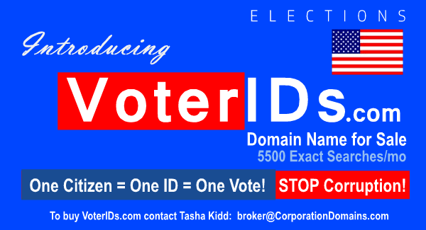 Voter IDs domain name