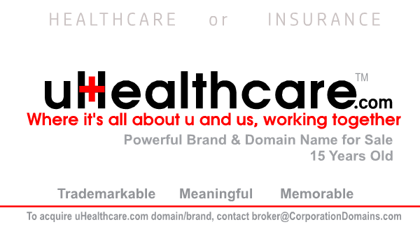 uHealthcare.com url for sale